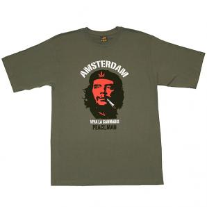 Che Guevara Smoking Weed T-Shirt